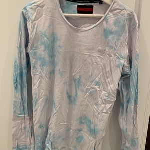 Tie dye long sleeve loungewear